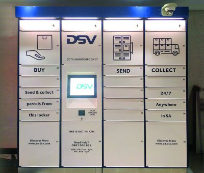 DSV Postal Locker solution by TZ